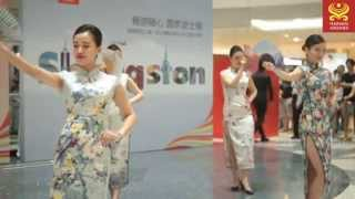 Seattle - Shanghai opening ceremony by Hainan Airlines