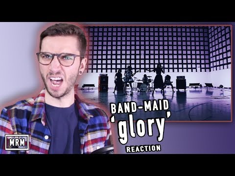 BAND-MAID - 'glory' Reaction / Review!