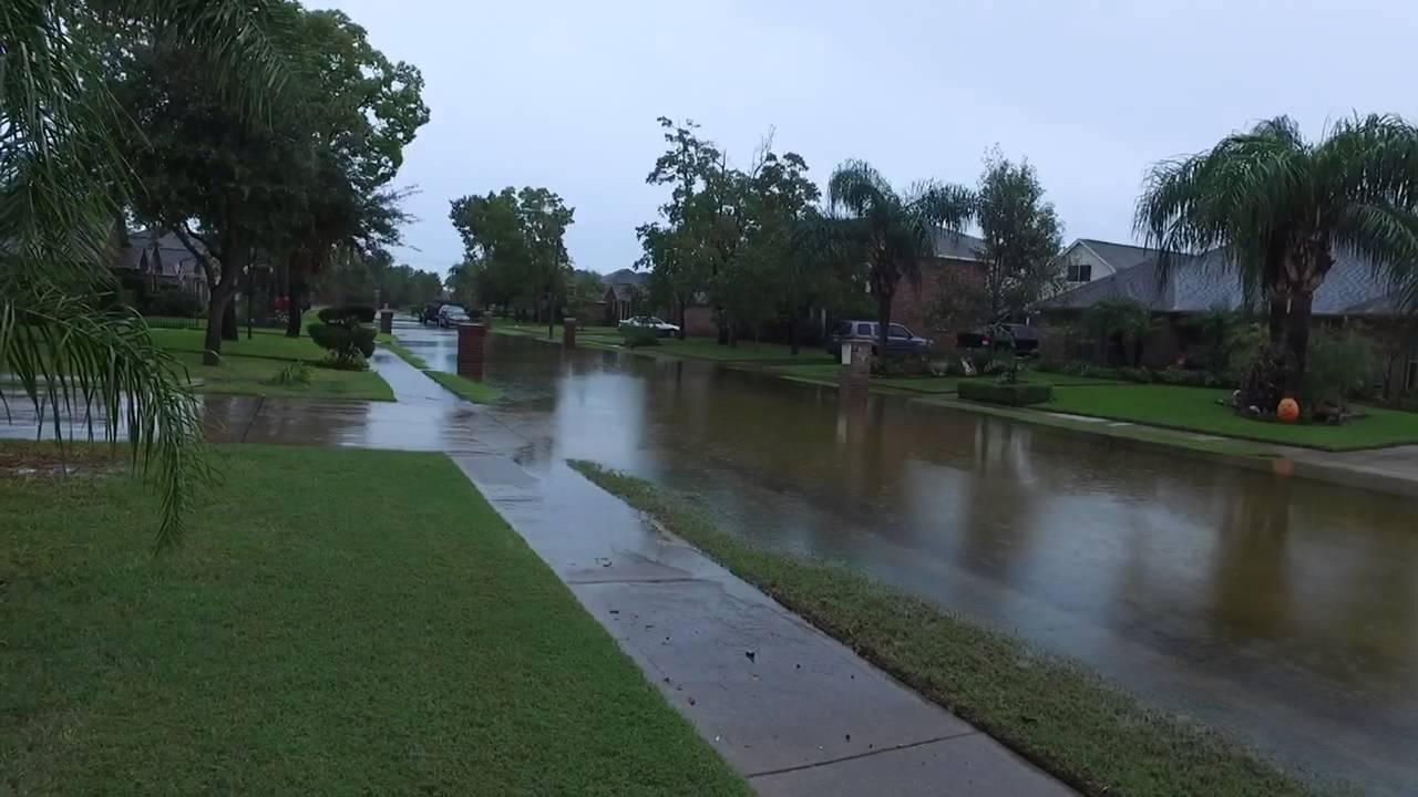 Dji Osmo League City 10 31 2015 Street Flooding Texas