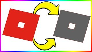 GRAY ROBLOX LOGO! Roblox Has Changed!