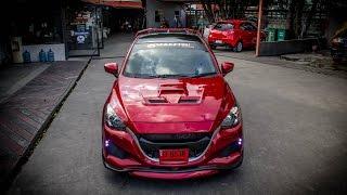 ชุดแต่ง All new Mazda2 ทรง GTR จาก NEKKETSU racing