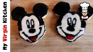 Mickey Mouse Cookies Recipe MYVIRGINKITCHEN