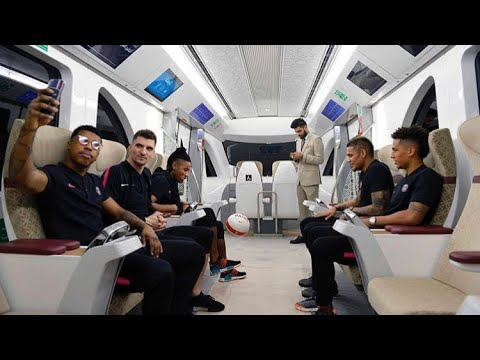 PSG have travelled to Qatar for a short training and sponsorship tour