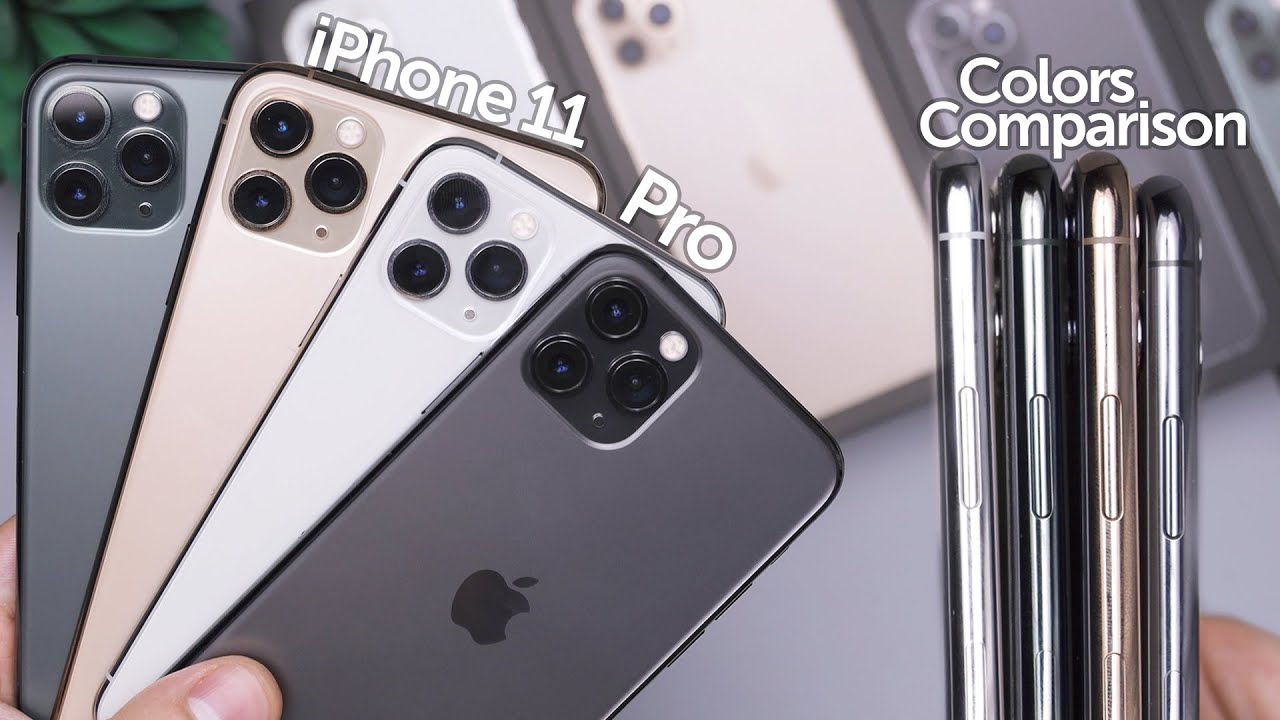 iPhone 11 Pro All Colors In,Depth Comparison! Which is Best?