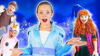 Kids Fun TV Compilation Video Frozen Elsa and Anna Frozen 2 Skits