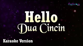Hello - Dua Cincin (Karaoke Version)