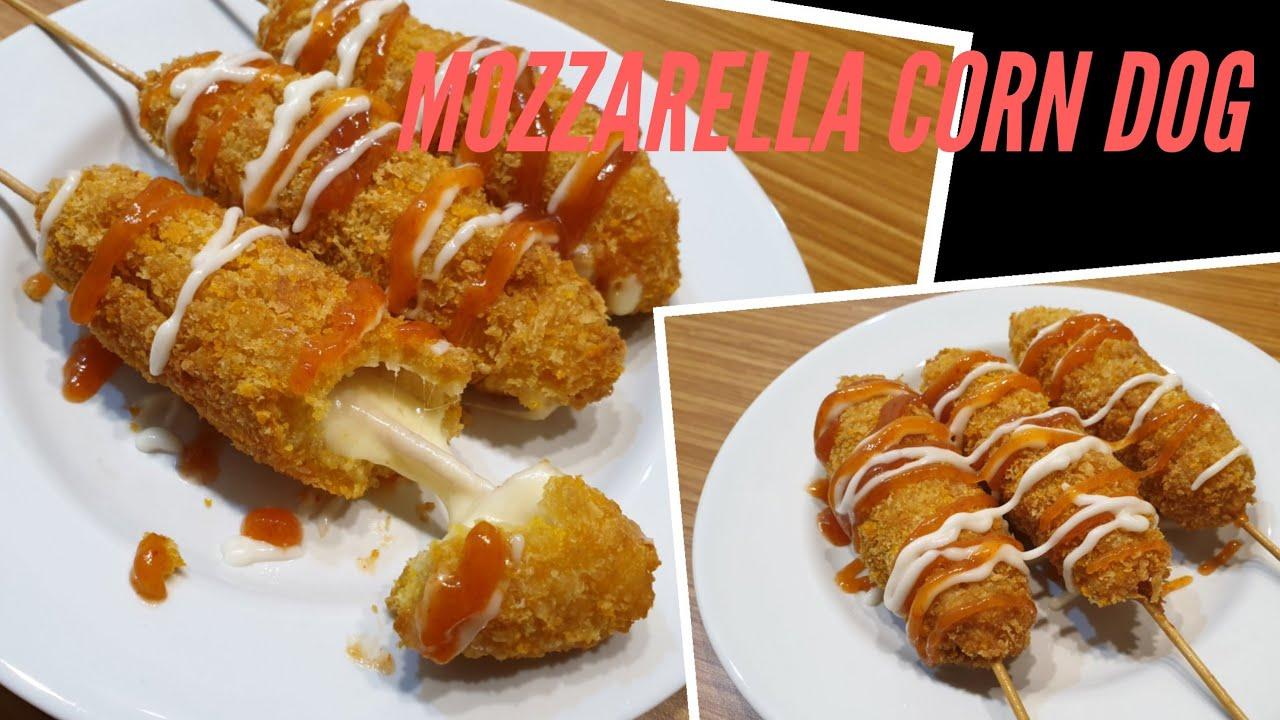 Resep Mozzarella Corn Dog Youtube