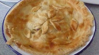 How To Make And Bake A Chicken And Mushroom Shortcrust Pie In The Halogen Oven