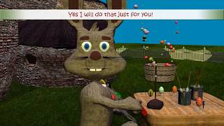Happy Easter! The Easter Bunny Song / Easter Song with lyrics