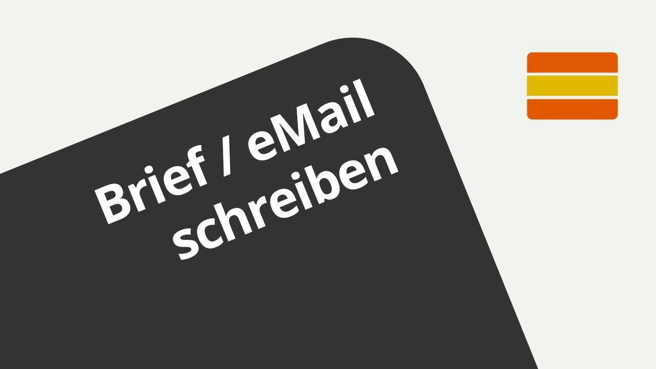 Eine E Mail Oder Einen Brief Auf Spanisch Schreiben Spanisch
