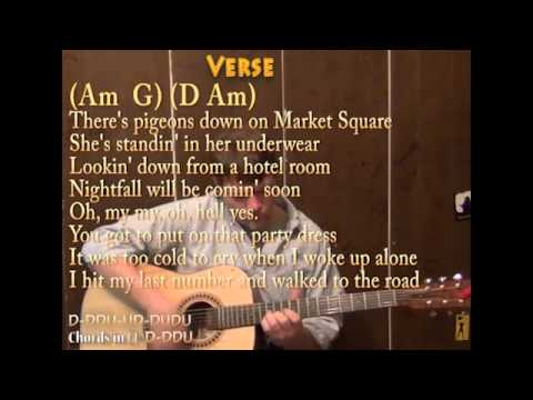 Mary Jane\'s Last Dance (Tom Petty) Cover Lesson with Chords and ...