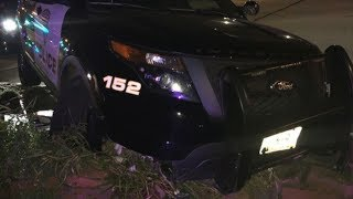 """""""Unavoidable Accident"""" totals New Hope K-9 Squad Car"""