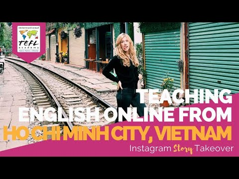 Day in the Life Teaching English Online from Ho Chi Minh City, Vietnam with Jamie McIntyre