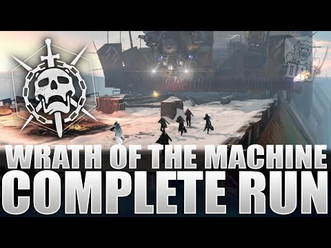 Destiny: Wrath Of The Machine Raid Complete Playthrough W/ Epic Loot Rewards