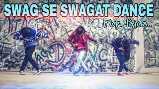 'Swag Se Swagat Song' Dance Choreography | Tiger Zinda Hai | Hip Hop Dance for Kids | Mr. Blaze