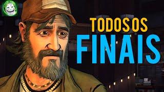 The Walking Dead - 2 Temporada - TODOS os 4 Finais alternativos do Kenny | Kenny alternate endings