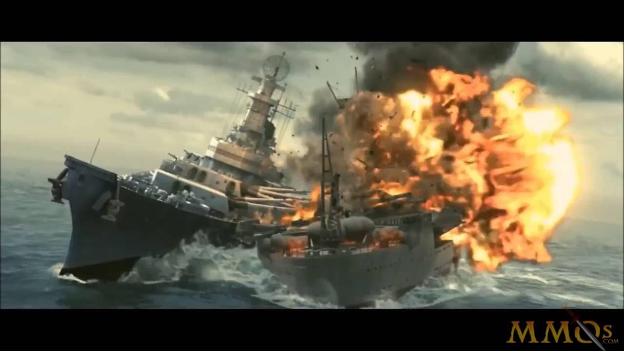 Steel Ocean trailer, Iowa vs Yamato part