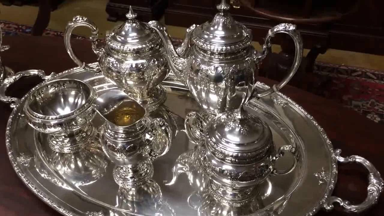 Royal Windsor Sterling Silver Tea Coffee Set Kitchen And Dining