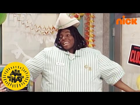 Good Burger Party W/ Amanda Bynes | All That | Nick Splat