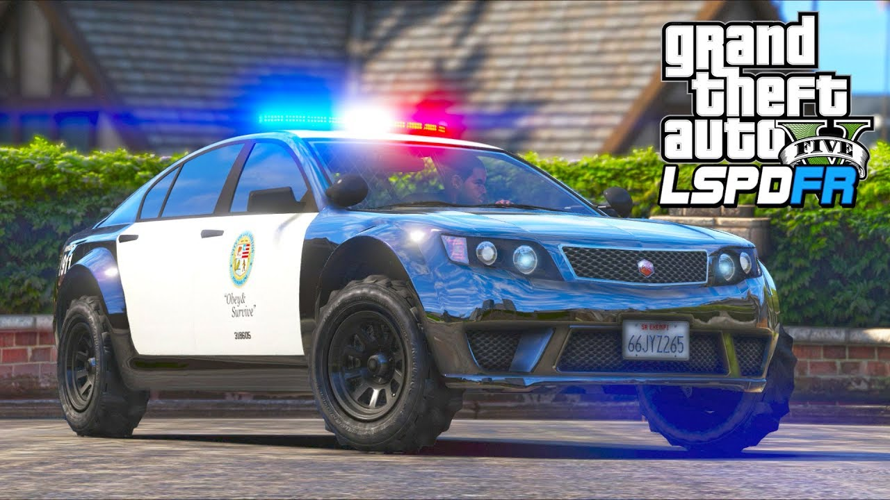 Now this police car is just SILLY!! (GTA 5 Mods - LSPDFR Gameplay)