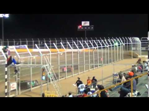 Kinzer Late Model A Feature Race Outlaw Motor Speedway 5/10/14