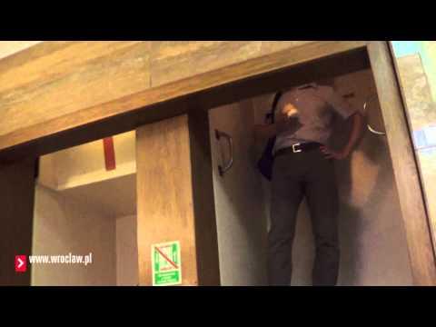 Nieznany Wrocław - niezwykła winda w Banku Zachodnim