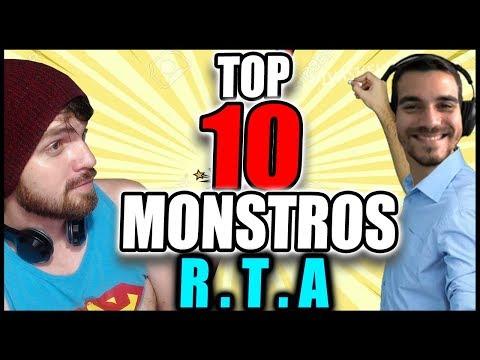 3º Capítulo - TOP 10 MONSTROS PARA RTA - ASSISTA NA VELOCIDADE 15X