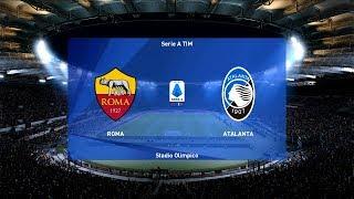 As roma vs atalanta | stadio olimpico 2019-20 serie a pes 2020