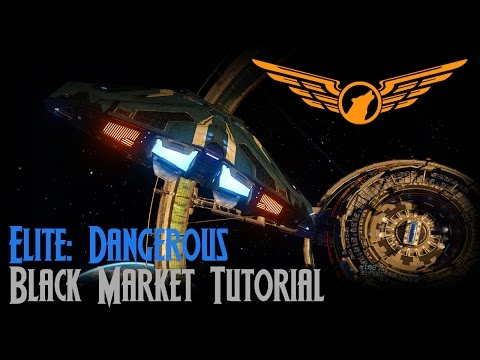 Elite: Dangerous - Black Market Tutorial [ASSIST ON]