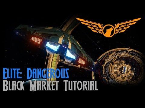 Elite: Dangerous - Black Market Tutorial [ASSIST ON]