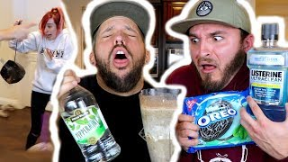 EXTREME MILKSHAKE CATCHES FIRE! (CAUGHT ON CAMERA)