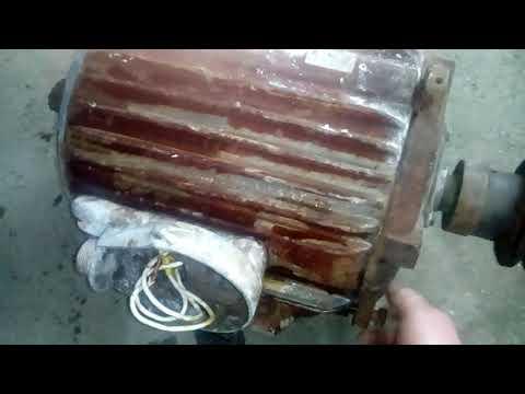 Как просушить электродвигатель