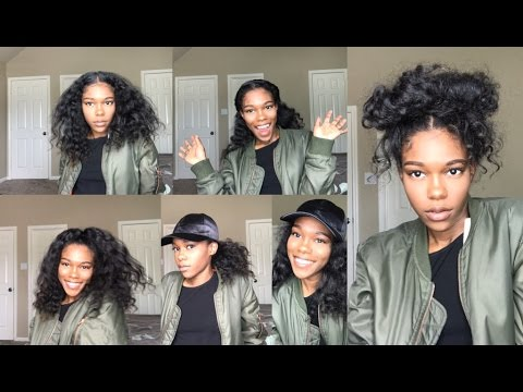Easy Hairstyles For Natural Hair Blow Out Youtube