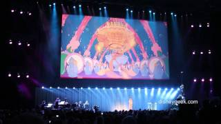d23 expo 2011 legends ceremony beauty and the beast medley clip