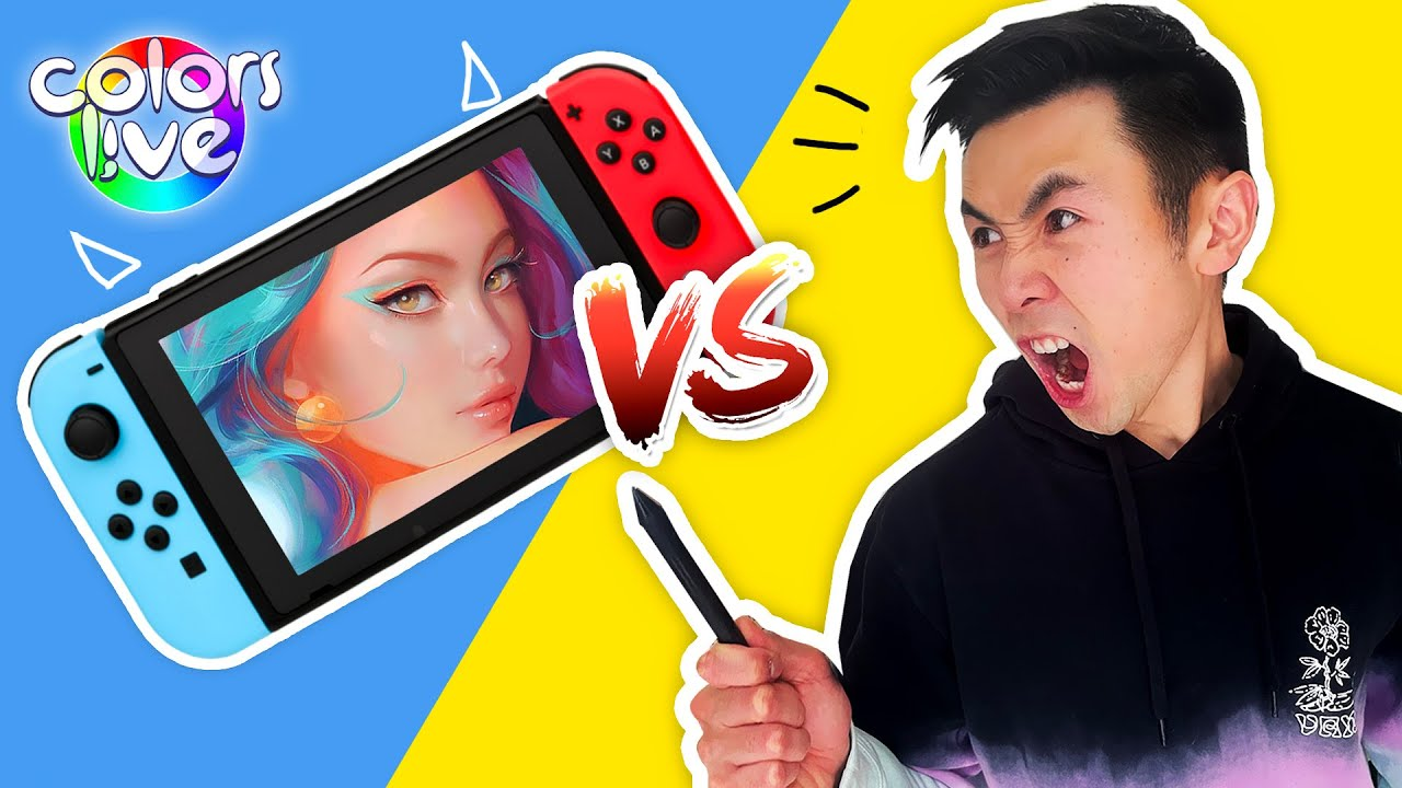Can You Paint Using a Nintendo Switch?!