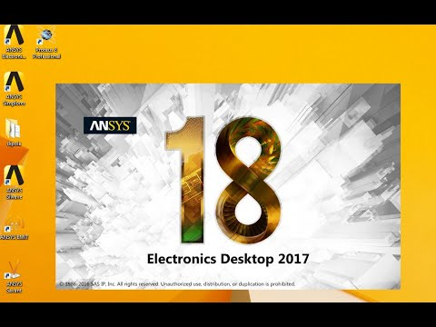 Ansys Electronics 18  Suite Win64 Dowwnload and  Crack