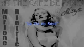 Marlene Dietrich - La Vie En Rose (Live)