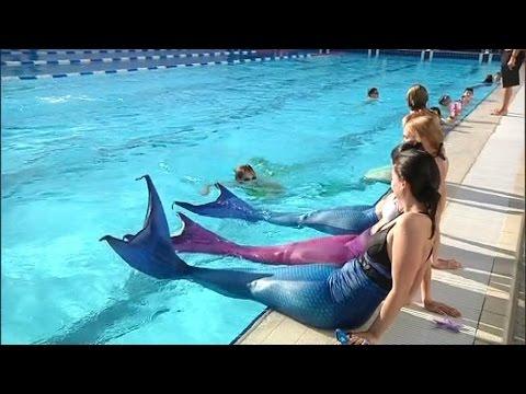Se transformer en sir ne possible dans une piscine de meurthe et moselle y - Queue de sirene a acheter ...