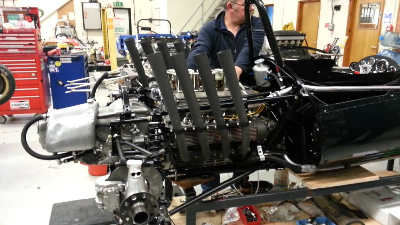 H16 BRM sound Not to be confused with the V16 1950's ...  |Brm V16 Sound