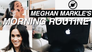 I TRIED MEGHAN MARKLE'S MORNING ROUTINE
