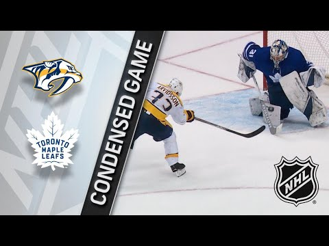 02/07/18 Condensed Game: Predators @ Maple Leafs