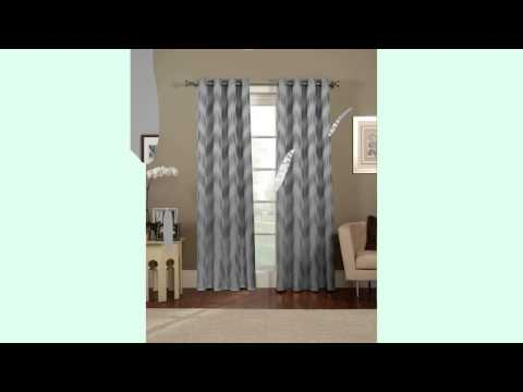 Gray Chevron Curtains - True essence of the room