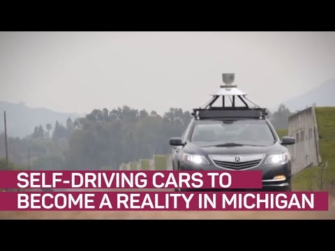 Driverless cars to become a reality in Michigan