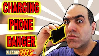 ElectroBOOM Crew EXPOSED!!! Charging Cellphone RAYS! (LATITY-004)