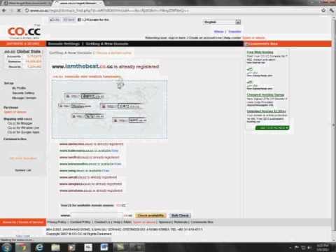 How to get free premium website domain