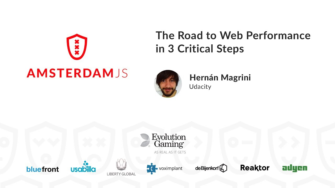 The Road to Web Performance in 3 Critical Steps – Hernan Magrini