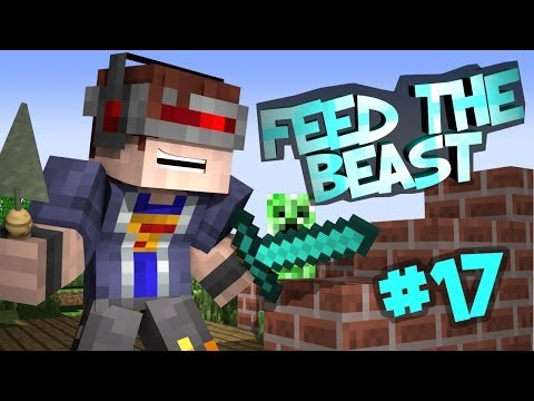 Feed The Beast - 'Unleashed' Part 17: Tunnel Farming