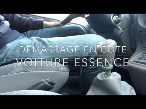 d marrer en c te avec une voiture essence youtube. Black Bedroom Furniture Sets. Home Design Ideas