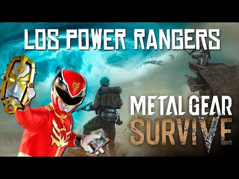 LOS POWER RANGERS | METAL GEAR SURVIVE Beta PC