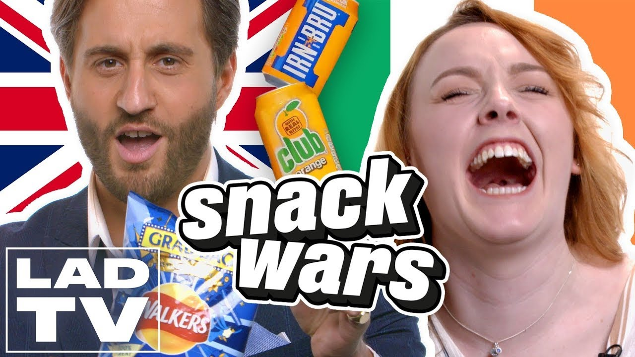 UK vs. Ireland | Snack Wars: Fight For Your Country | LADbible TV